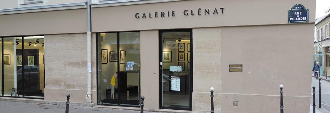 Façade de la galerie Glénat