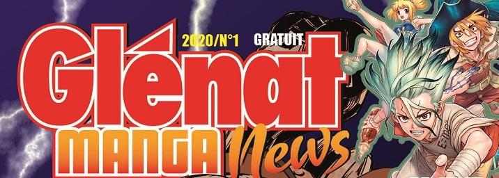 Glénat manga news