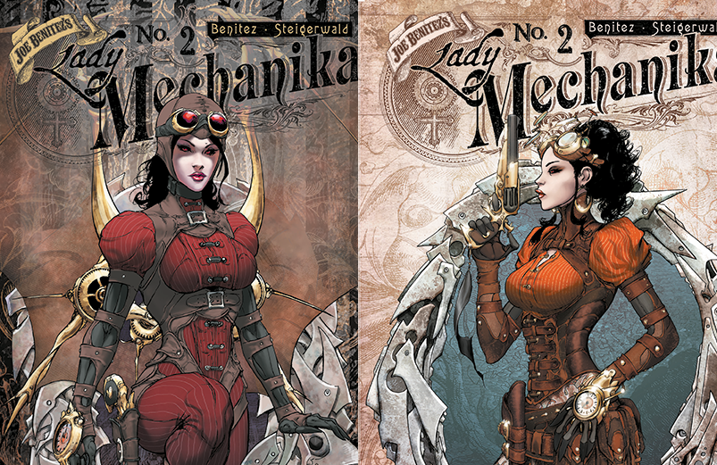 couvertures Lady Mechanika
