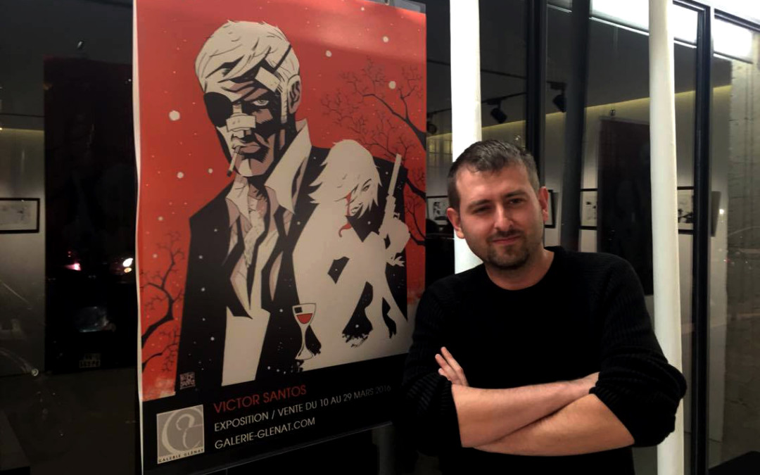 Victor Santos à la galerie Glénat