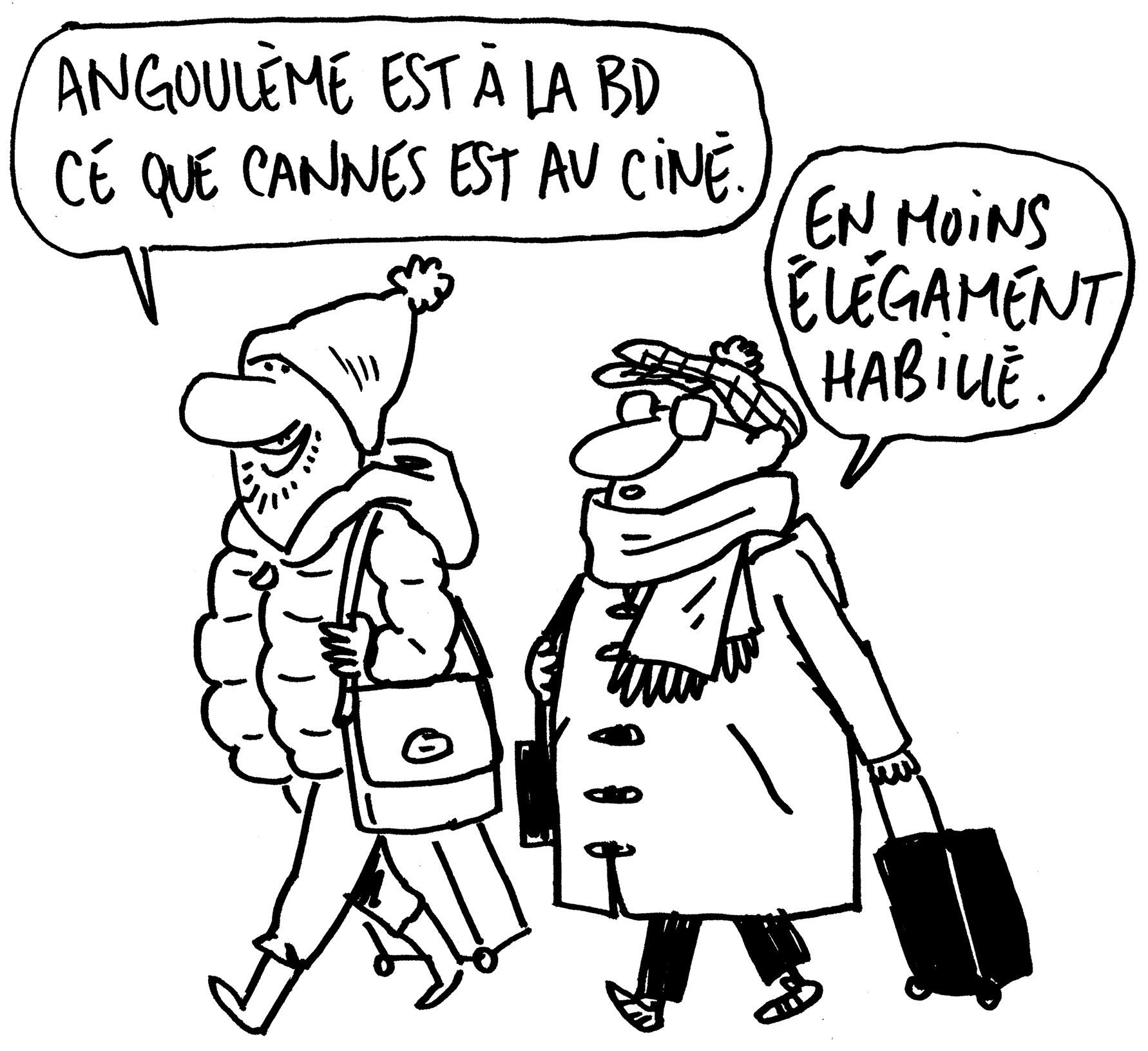 Caricature Angoulême