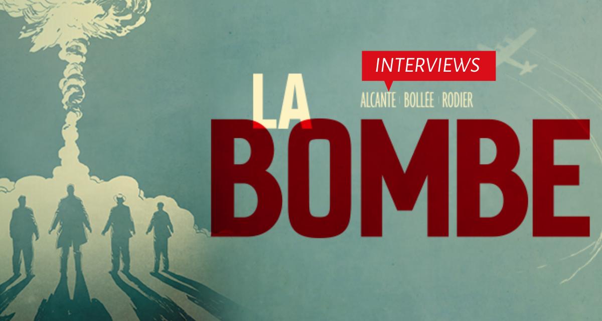 Interviews des auteurs de la Bombe