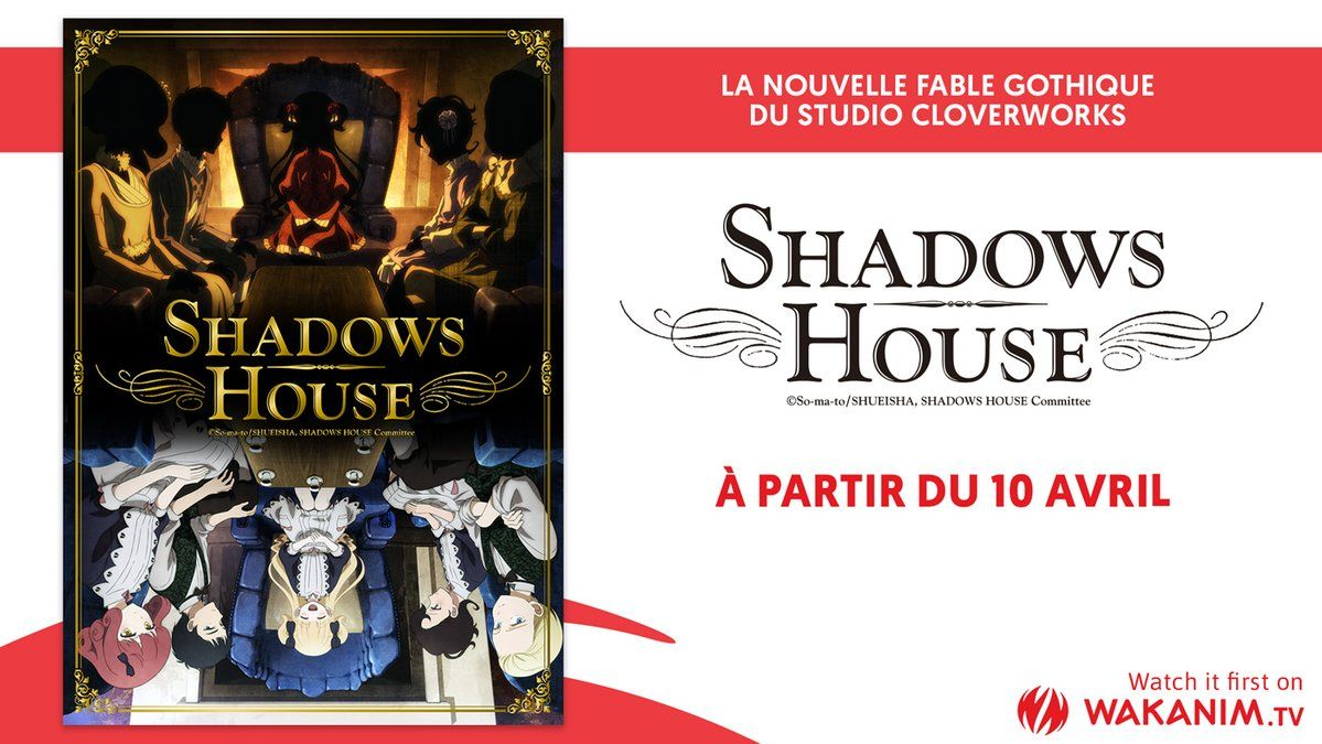 Shadows House sur Wakanim, à partir du 10 avril !