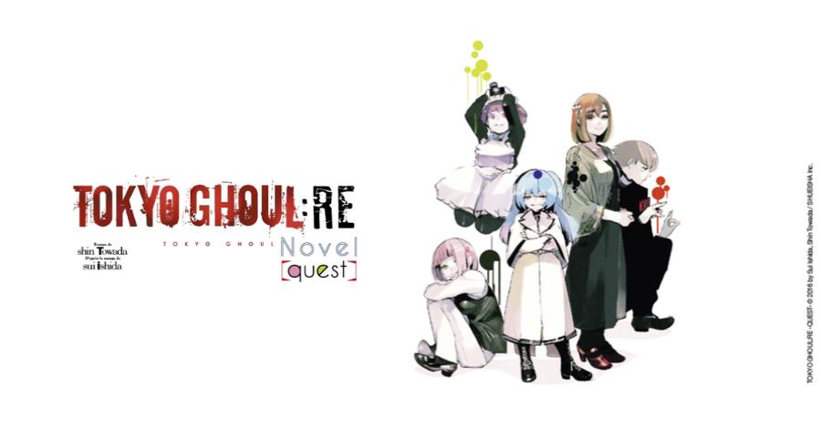 Tokyo Ghoul re : roman