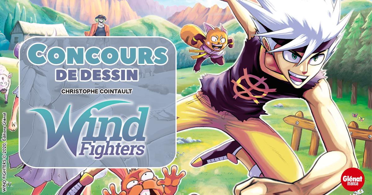 Les gagnants du concours de dessin Wind Fighters Tome 1
