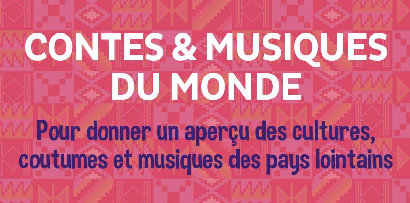 Contes et musiques du monde