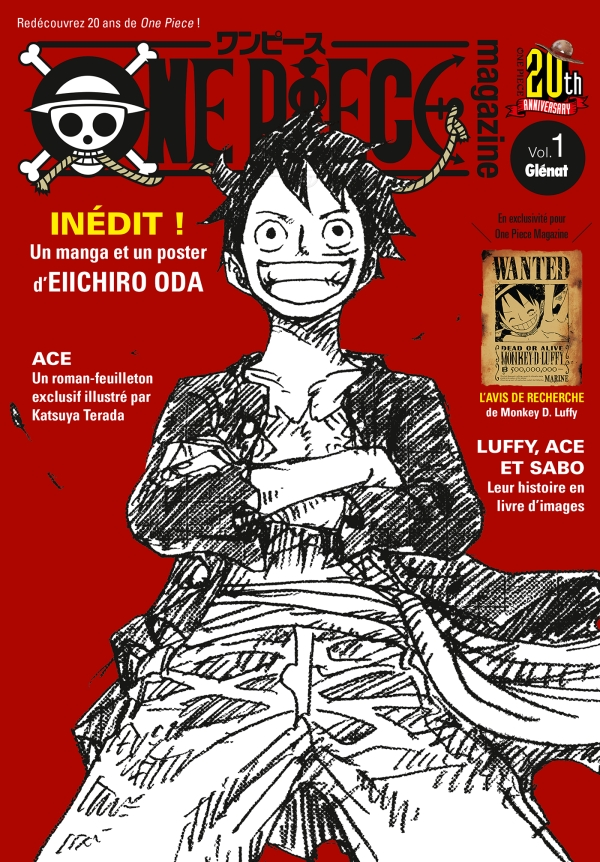 One Piece Magazine Tome 01