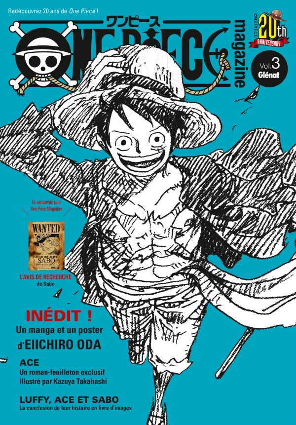 One Piece Magazine Tome 03
