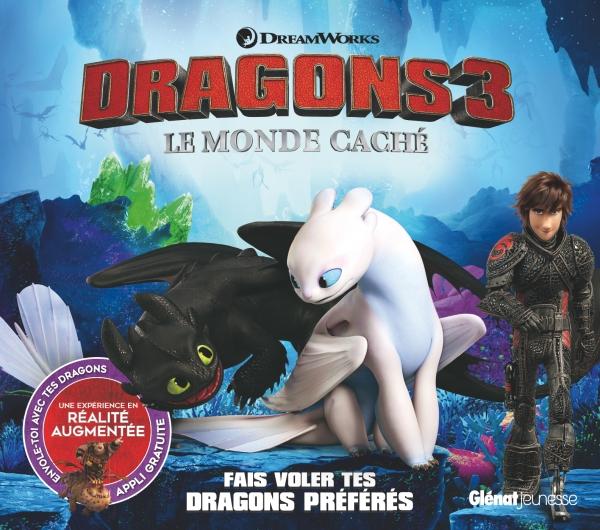 Dragons 3 En Realite Augmentee Editions Glenat