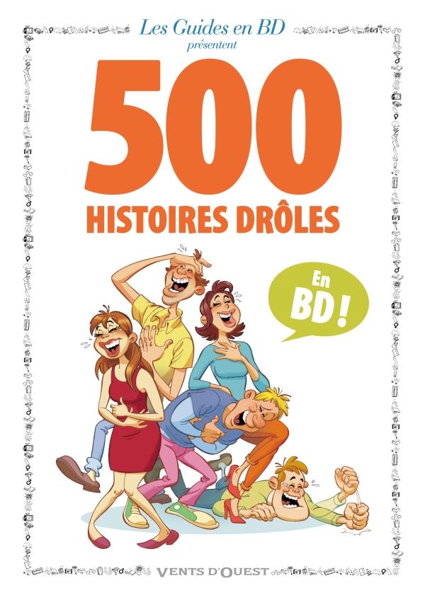 500 histoires drôles | Éditions Glénat