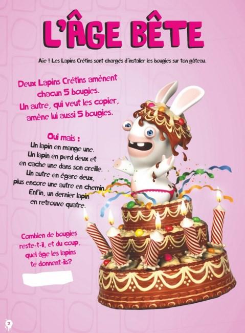The Lapins Crétins Activités Les Jeux Qui Font Bwaaah 3