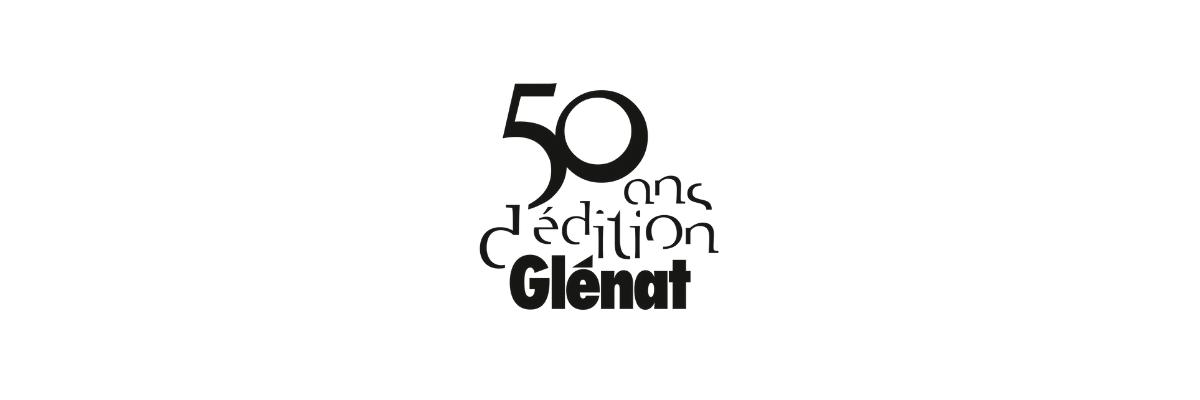 Logo Glénat 50 ans