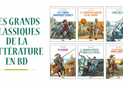 Les grands classiques de la littérature en bande dessinée