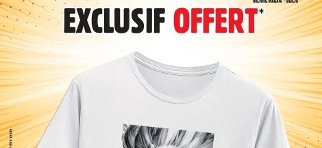 Opération spéciale Dr. Stone : un t-shirt exclusif offert !