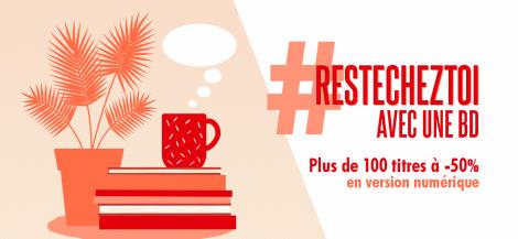 #ResteChezToi avec une BD