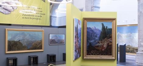 Exposition Derrière la montagne