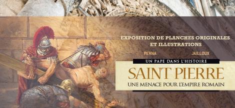 Exposition Saint Pierre Cathédrale d'Angoulême