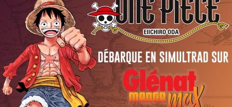 One Piece en simultrad sur Glénat Manga Max