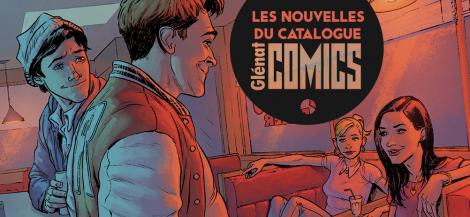 Les nouvelles du catalogue comics