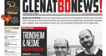 Glénat BD news 27/01