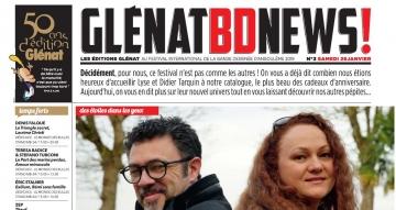 Glénat BD News 26/01