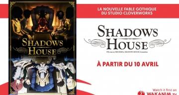 Shadows House sur Wakanim, à partir du 10 avril !
