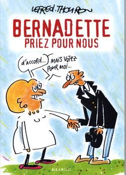 Bernadette priez pour nous