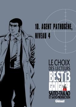 Golgo 13 - Le choix des lecteurs - Agent pathogène, niveau 4