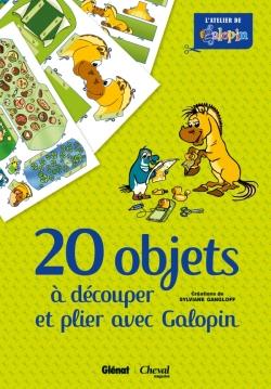 20 objets à découper et plier avec Galopin