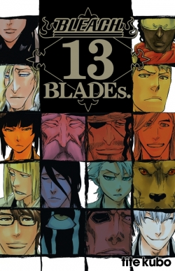 Bleach Data book - 13th Blades