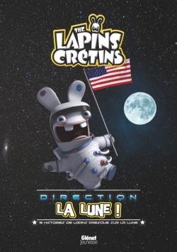 Les Lapins crétins direction la lune