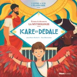Livre CD La Mythologie - Icare et Dédale