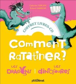 Coffret Comment ratatiner les dragons et les dinosaures - Livre CD