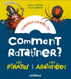 Coffret Comment ratatiner les pirates et les araignées - Livre CD