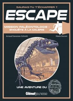 Escape ! Mission paléontologie : enquête à la galerie