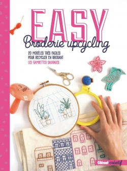Easy broderie upcycling