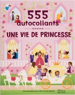 Une vie de princesse - 555 autocollants
