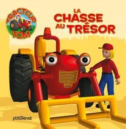 Tracteur Tom - la chasse au trésor