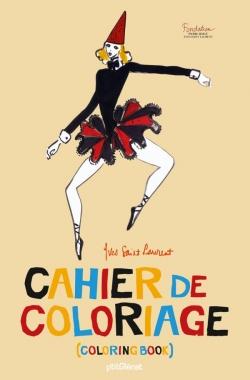 Cahier de coloriage Yves Saint Laurent - Luxe