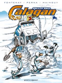 Calagan - Rallye raid - Tome 03