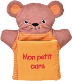 Mon petit ours - Livre Marionnette