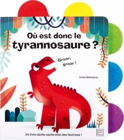 Où est donc le tyrannosaure ?