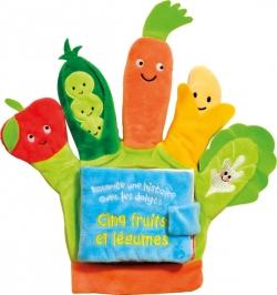 Cinq fruits et légumes-Livre gant