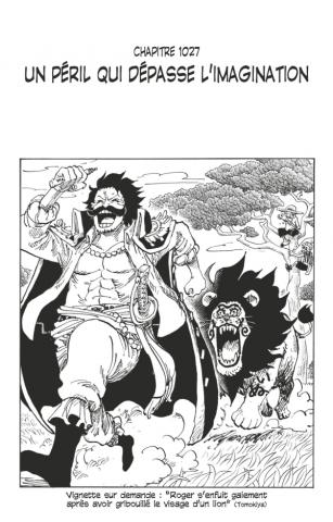 One Piece édition originale - Chapitre 1027