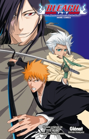 Bleach Anime comics - The Diamond Dust Rebellion