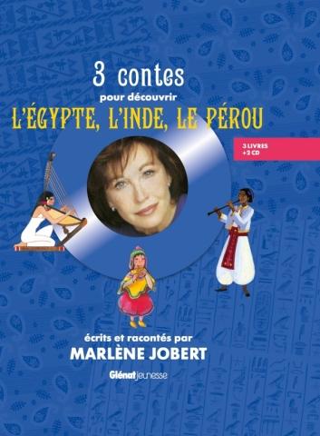 Coffret 3 contes pour découvrir l'Egypte, l'Inde et le Pérou