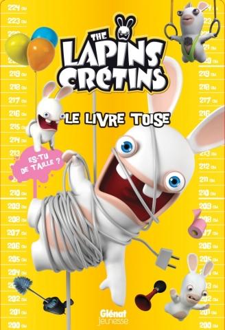 The Lapins crétins - Activités - Livre toise