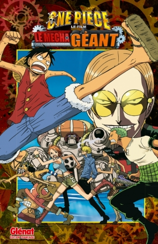 One Piece Anime comics - Le mecha géant du château Karakuri