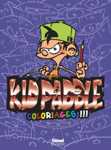 Kid Paddle - Coloriages - Tome 01