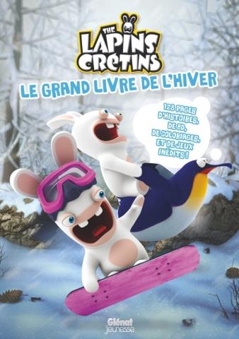 Lapins Crétins - Activités - Le grand livre de l'hiver